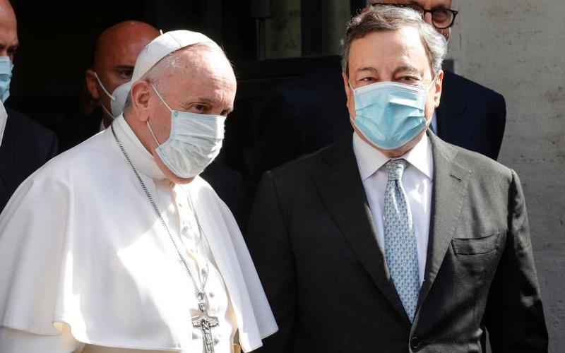 """UPDATED: Pope warns against Italy's """"demographic winter"""""""