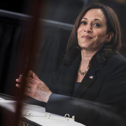 Microsoft, Mastercard sign on to VP Harris's Central America strategy