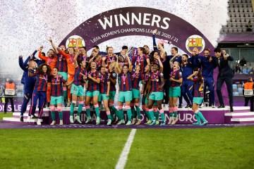 Barcelona beat Chelsea to win Women's Champions League final
