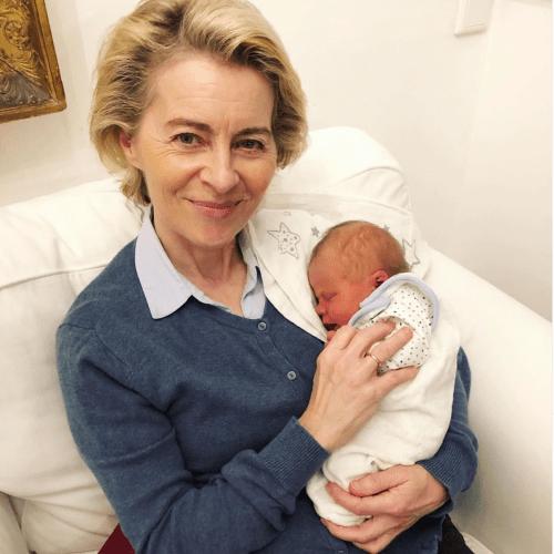 UPDATE – Ursula von der Leyen becomes grandmother on Europe and Mother's Day