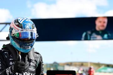 Hamilton takes top slot for F1 sprint on fizzing Friday