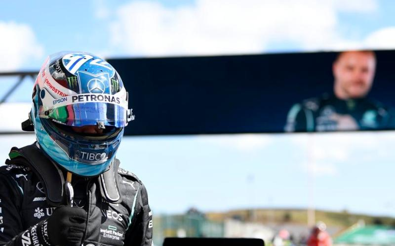 Valtteri Bottas take pole position for Portuguese Grand Prix