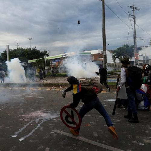 UN, EU call for calm at Colombia protests, warn of excessive force