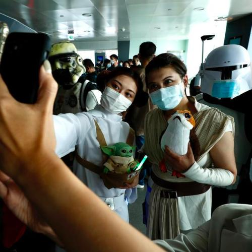 Photo Story – Star Wars day in Taipei