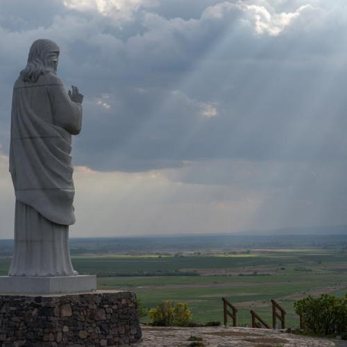 Photo Story – Blessing Christ statue, Hungary
