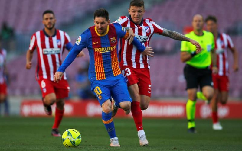 Atletico and Barca draw to hand advantage to Real Madrid