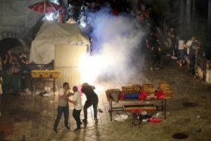 "Erdogan calls Israel ""terror state"" over Palestinian clashes at Al-Aqsa"