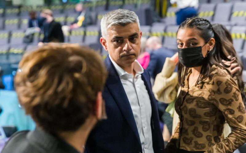 Labour's Sadiq Khan re-elected London mayor