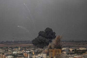 Israeli energy pipeline hit in Gaza rocket attack, sources say