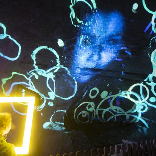 Photo Story – Multi Visual show Light Ragaz in Tamina canyon