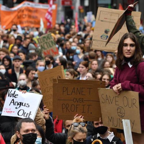 Photo Story – School Strike 4 Life protest in Sydney