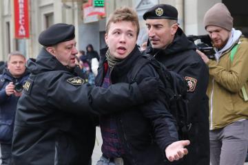 Belarusian opposition leader believes blogger tortured