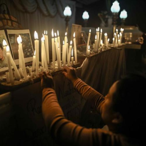 Photo Story – People remember victims of a massacre attributed to Sendero Luminoso, in Peru
