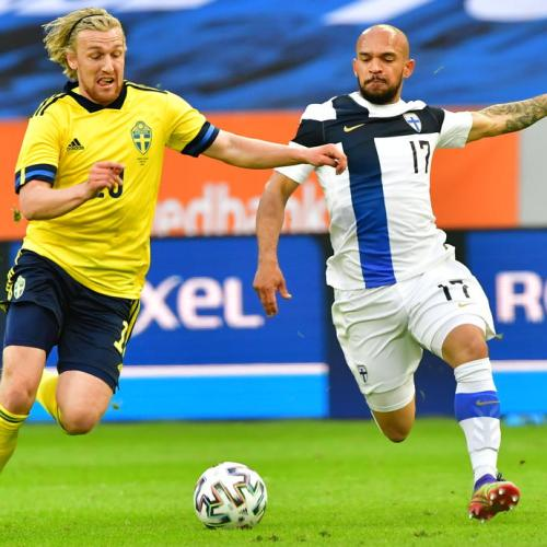 Sweden ease to 2-0 Euro warm-up victory over Finland
