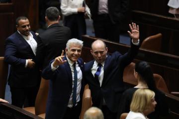 UPDATED: Israel's new government begins, Netanyahu era ends