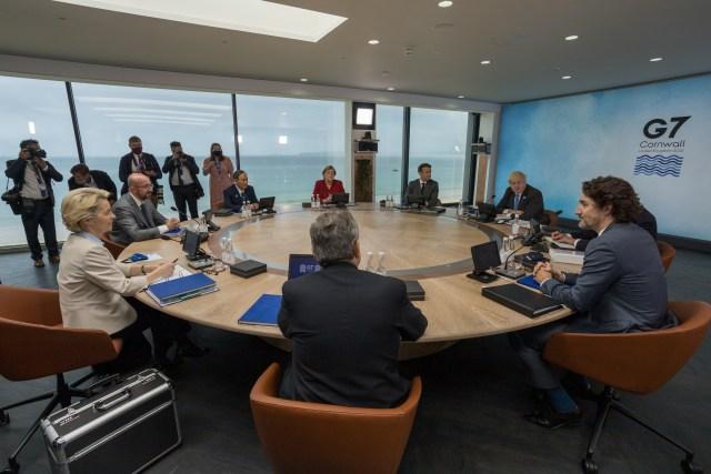 UPDATED: G7 calls for study in China on COVID origins, agree on increased climate finance