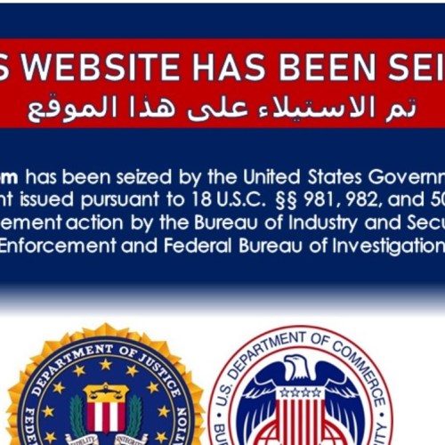 US authorities seize Iran-linked news websites