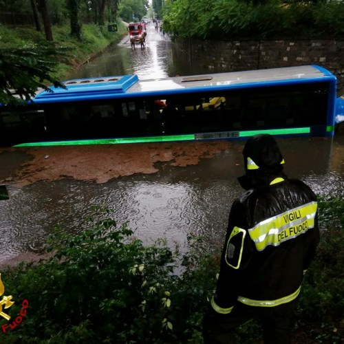 In Pictures – Heavy rain hit various parts of Italy