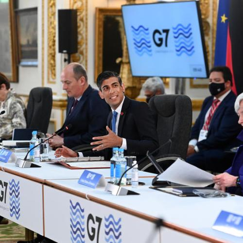 UPDATED: G7 finance ministers agree global minimum tax of at least 15%