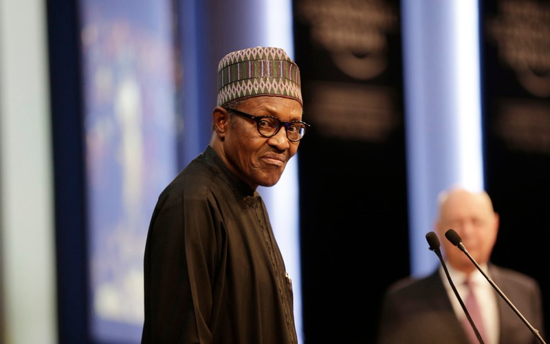 Nigeria's Buhari tells youth to 'behave' if they want jobs