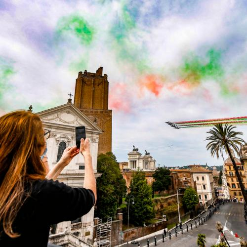 Photo Story – Celebrations of Republic Day in Italy