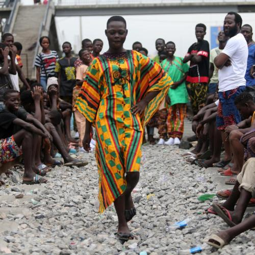 Photo Story – Fashion for the Homeless in Lagos