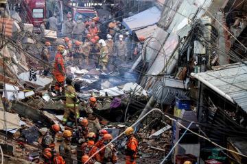 Photo Story – Building collapses in Rio de Janeiro