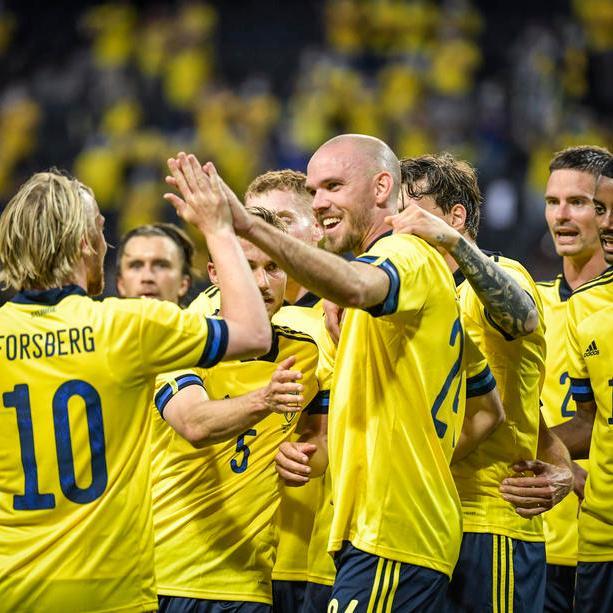 Forsberg on fire as Sweden beat Armenia in final pre-Euro friendly