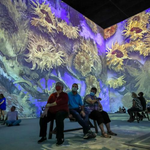 Photo Story – Van Gogh: The Immersive Experience exhibition in Atlanta, Georgia