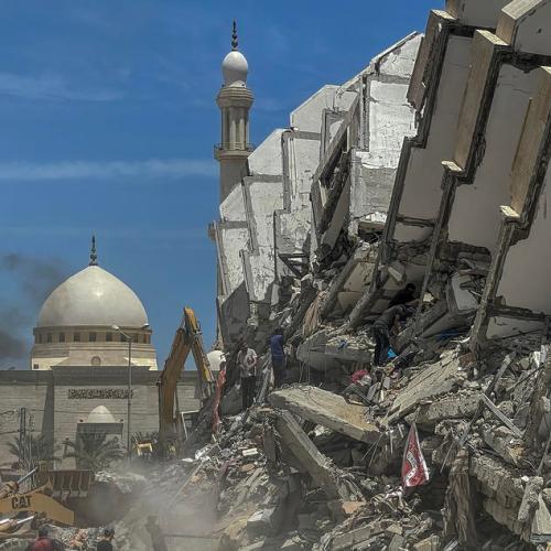 Photo Story – Reconstruction in Gaza