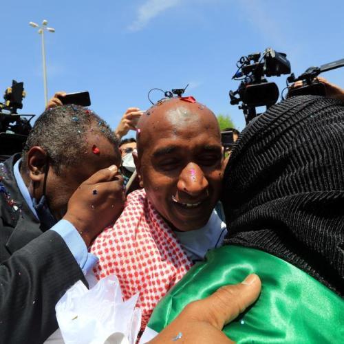 Photo Story – Jordanian prisoner Abdullah Abu Jaber released from Israel