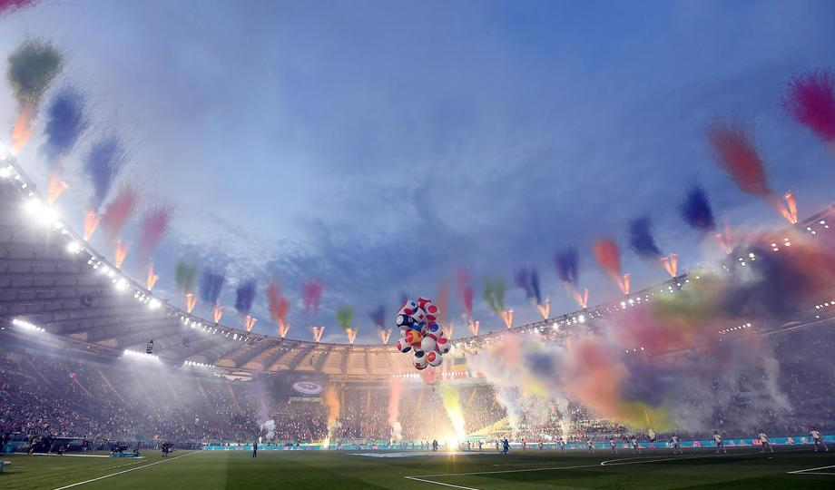 In Pictures: Italy's Euro 2020 opening ceremony