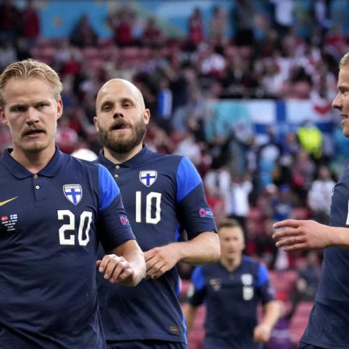 Finland beat Denmark but game overshadowed by Eriksen collapse