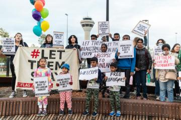 Photo Story – Tamil asylum-seeker family reunites in Australia