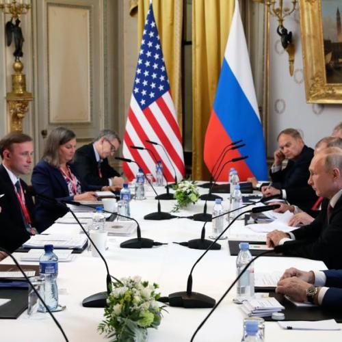 """UPDATE – Biden calls for """"basic rules of the road"""" at summit with Putin"""