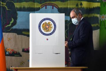 Polls open in Armenia's early parliamentary elections