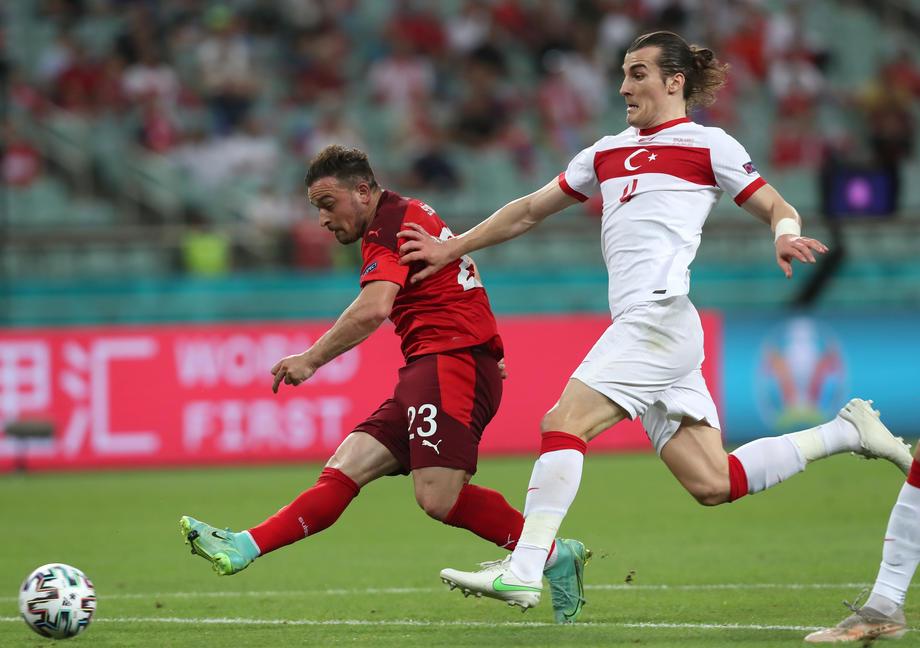 Switzerland beat Turkey 3-1 to keep Euro 2020 hopes alive