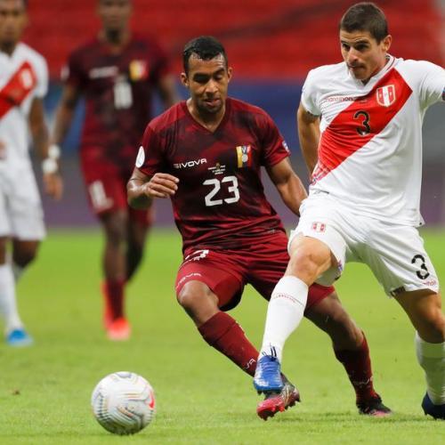 Peru vanquish Venezuela to seal Copa last eight spot