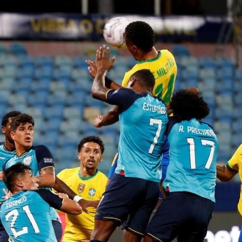 Ecuador hold Brazil, qualify for Copa America last eight