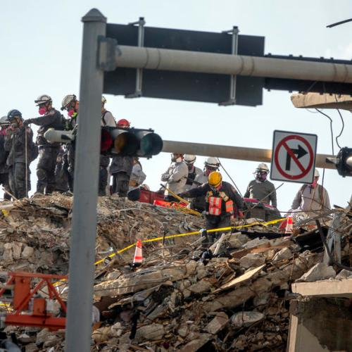 Search called off for survivors of Florida condo tower collapse