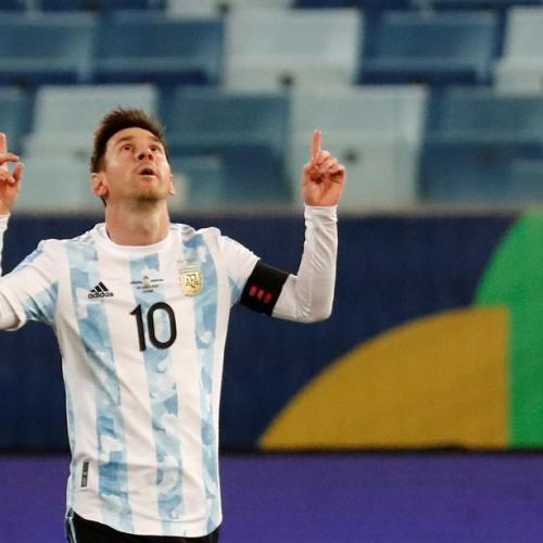 Messi becomes Argentina's most capped player