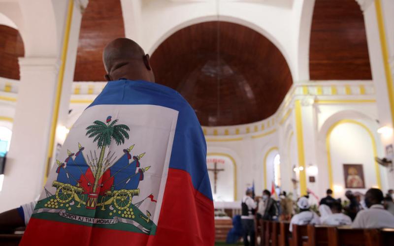 Photo Story: Haitians bid farewell to assassinated president Jovenel Moise