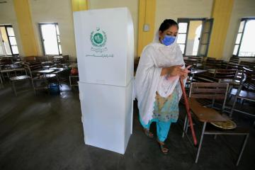 Two activists killed in tightly fought vote in Pakistan's Kashmir