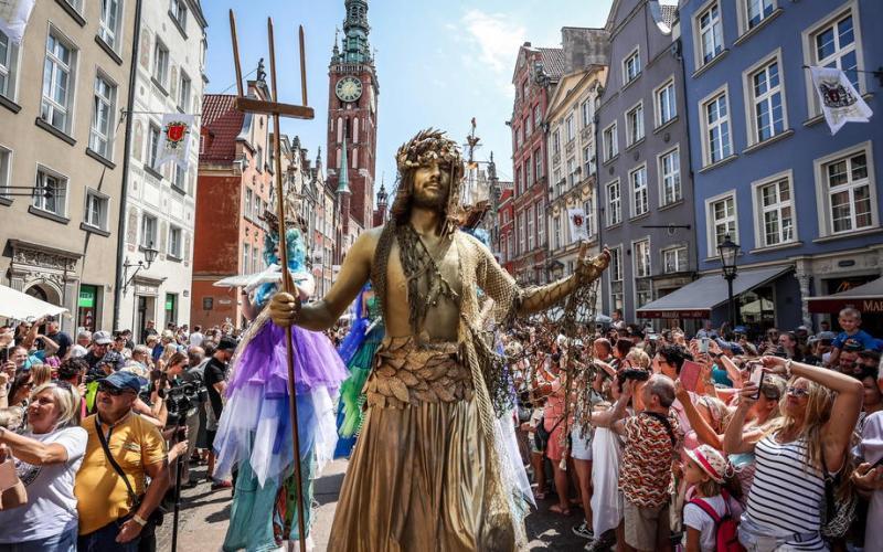 Photo Story: St. Dominic's Fair in Gdansk, Poland