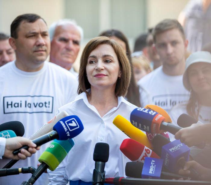 Pro-Western party PAS wins Moldova election, preliminary data shows