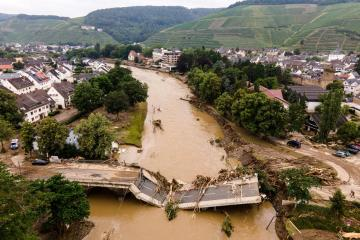 Crowdfunding raises over 30,000 euros for German flood victims