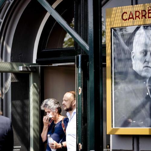Thousands pay last respects to Dutch reporter Peter de Vries