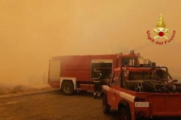 Sardinia in state of emergency over forest fires