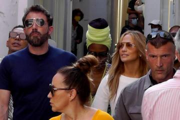Photo Story: Jennifer Lopez and Ben Affleck visit Capri