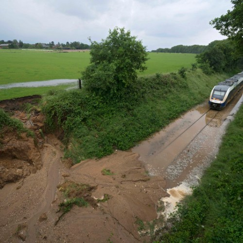 Deutsche Bahn estimates flood damage of 1.3 billion euro